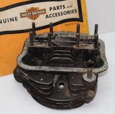 ORIGINAL 1950's Harley-Davidson Panhead Motor Front Cylinder Barrel Head As-Is