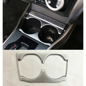 ABS Interior Console Cup Holder Cover Trim For Honda City 2014-2017