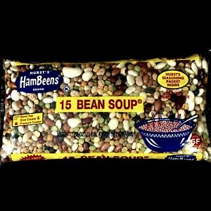 15 Bean Soup Hurst's HamBeens Brand Original Seasoning Packet Inside Recipe Ham