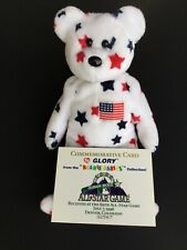"TY Beanie Baby ""GLORY"" Rare and in VG Condition – 1998 MLB All Star Game"