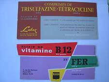 Buvard Labo Labaz Comprimé Tétracycline Elixir vitamine