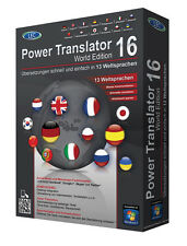 Power Translator 16 World Edition Box CD/DVD inkl. Steganos Privacy Suite 17 CD