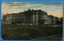 CPA: Etats-Unis - Carnegie Library, Schenley Park, Pittsburgh, Pa.