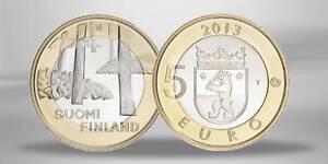 FINLANDE 5 Euro Monuments Satakunta - Sammallahdenmäki 2013 UNC