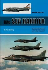 Warpaint Series No.075 - Bae Sea Harrier                  36 Pages        Book