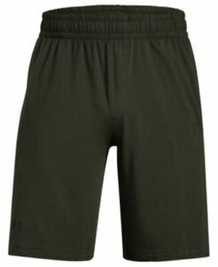 Under Armour Mens Sportstyle Cotton Graphic Artillery Green Med, Large & XL