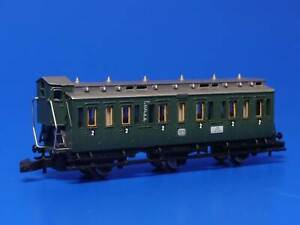 MARKLIN Z - 8705 - DB 2nd Class 3-Axle Compartment Car w/Cab / BOX - EXC