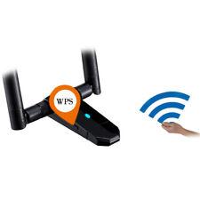 AC 1200m Dual Band Wireless Desktop Usb3.0 WiFi Adapter Antennas Networks Card