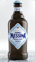 Cassa 24 BOTTIGLIE Messina Sali di Sicilia Birra Bionda Lager non filtrata 0,33