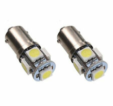 2x LED Standlicht T4W BA9S 12V - 5 Power SMD - Lampe Xenon-Weiss - 2 Stück - TOP