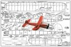 """Model Airplane Plans (FF): Midwest GOLLYWOCK II 31-3/4"""" Rubber-Powered"""