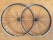 Cannondale C3 Mavic CXP22 10 Speed Road Bike Wheelset 700c Clincher Pair