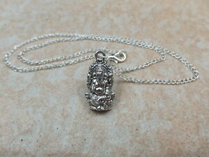 Ganesha - Tibetan Silver Tone Necklace Pendant