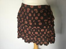 Joules Ladies Patterned Layered Short Skirt Size 12. Great Condition.
