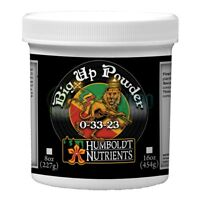Humboldt Nutrients Big Up Powder 8 oz Bloom Booster Plant Fertilizer 8oz