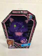 Monster High Clawdeen Wolf Crescent Pet Freaky And Fabulous Pets Plush Doll, New