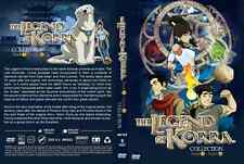 DVD ~ AVATAR : THE LEGEND OF KORRA ( BOOK 1 - 4 ) EPI 1 - 52 END ~ ENGLISH DUB