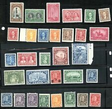 LOT 66502 CANADA  MINT NH CANADIAN STAMP  COLLECTION FROM 1930's