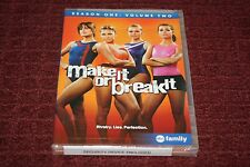 Make It or Break It: Season One, Vol. 2 (DVD, 2011, 2-Disc Set) *Brand New*