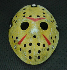 Horror Movie Old Halloween Mask Hockey Mask Jason Voorhees Friday The 13th