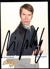 Mario Gallasch Sophie Braut wider Willen Autogrammkarte Original Sign## BC 4647