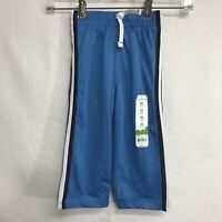 Jumping Beans Baby Boys Sweatpants size 24 months Blue Elastic Drawstring Waist