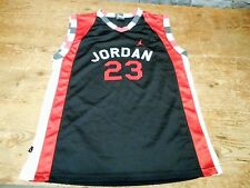 Michael Jordan #23 Chicago Bulls Air Jordan Jersey Warm Up Free Throw Youth XL