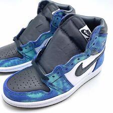 Nike Air Jordan 1 High OG Tie-Dye Women's Shoes White/Black-Green CD0461-100