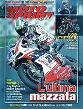 MotoSprint Extra.Troy Bayliss,MotoGp Valencia,Max Biaggi,Superbike Portogallo,ii