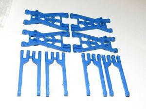 Yy-Madmax Nylon Bleu Résistant A-Bras Pour Hpi SAVAGE X / Flux / XL