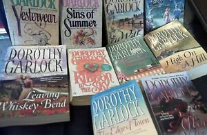 10 Dorothy Garlock Paperback Romance Novels in good condition
