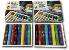 Scented Markers 2 Sets of 8 Mr Sketch Childrens Crafts Vintage w/ Box 16 Total