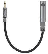 Heads Up Premium Hembra 6.3mm a macho Cable Adaptador De Auriculares 3.5mm