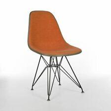 Naranja Checker Herman Miller Original Naranja Eames Dsr comedor silla lateral Shell