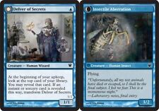 Innistrad Delver of Secrets // Insectile Aberration - Foil x1 Moderate Play, Eng