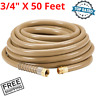 "Heavy Duty Commercial Industrial Garden Water Hose All Weather 3/4"" x 50 Feet"