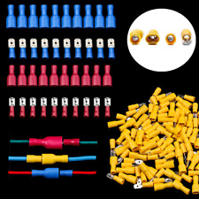 300Pcs Male&Female Terminals Insulated Electrical Wire Crimp Spade Connectors