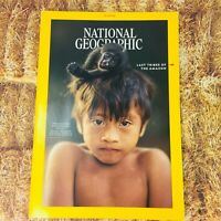 National Geographic Magazine Last Tribes of the Amazon October 2018 Issue