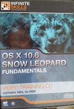 Mac / Windows OS x 10.6 Snow Leopard Fundamentals DVD Neil Oliver Training