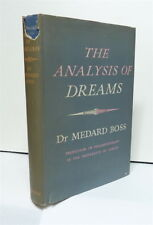 THE ANALYSIS OF DREAMS 1st edition,Dr Medard Boss, 1957 Rider h/c+jkt