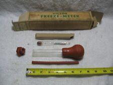 Vintage No.4 VICTOR FREEZE-METER Automotive Collectible Shop Tool-Antifreeze-Ice