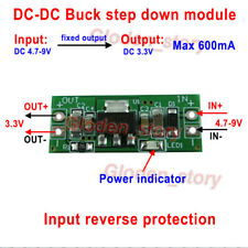 DC-DC Buck Step Down Voltage Volt Converter 5V-9V 6V to 3.3V Power Supply Module