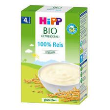 200g Hipp Gruau 100% Riz non Sucré sans Gluten Ab le 4. Mois Aucun Sucre