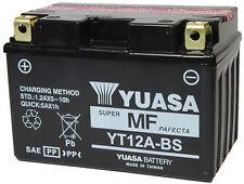 YT12A-BS BATTERIA YUASASIGILLATA 12V 10,5AH SuzukiAN Burgman 250 2003 - 2006