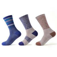 SOLAX 72% Merino Wool Women's Hiking Outdoor Crew Trainer Sport Socks 3 Pairs
