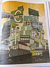 Arcade Fire Concert Mini-Poster Reprint for 2009 Mexico Tour   14x10  No 2