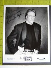Authentic Signed Autographed Photo Barry Van Dyke Diagnosis Murder Magnum PI