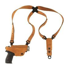 Galco Classic Lite Shoulder Holster Right Tan Glock 17/19/22/23/26/27/more CL224