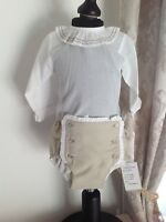 Baby Boys Spanish Shirt And Shorts Jam Pants Outfit Set 0-3 Months
