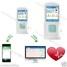 USA Seller  PM10 Portable ECG EKG Machine Heart Beat Monitor,USB, Bluetooth,LCD